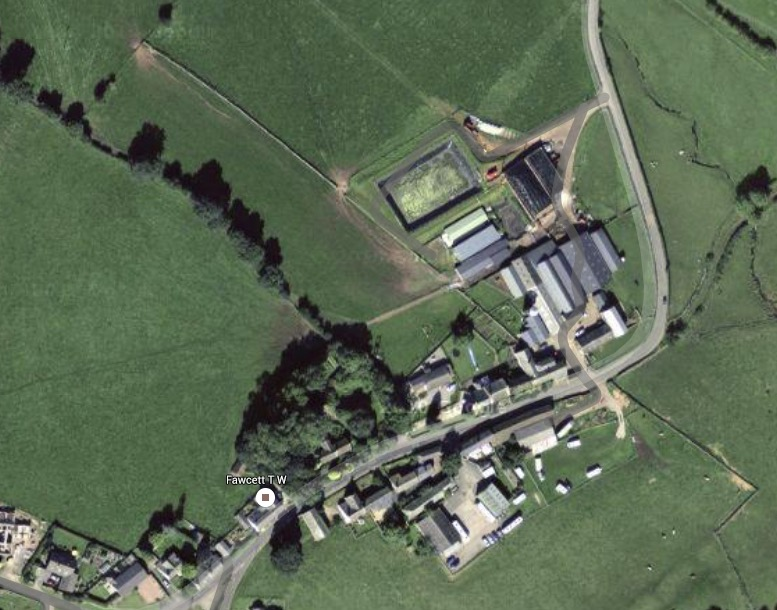 Little Blencow Farm - Image courtesy of Google