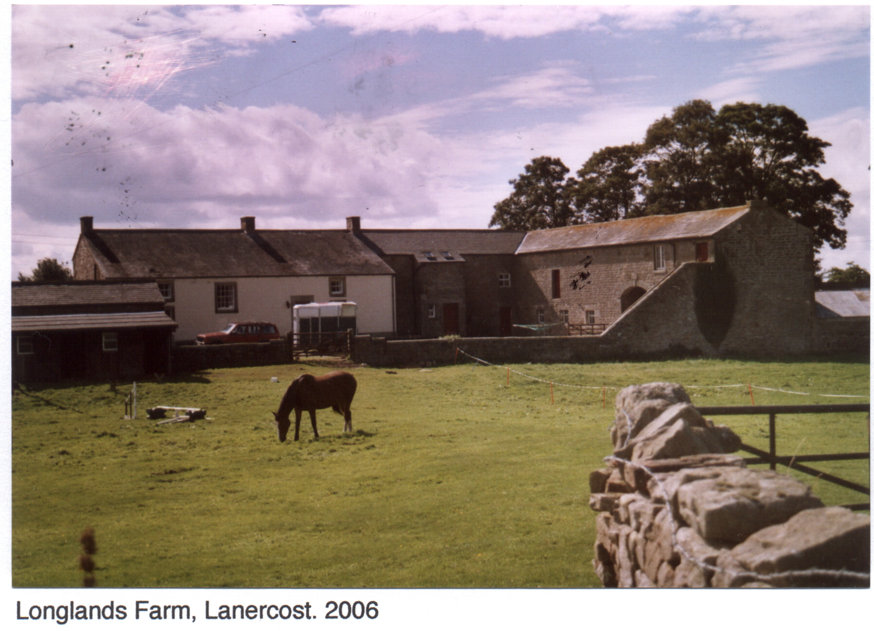 Longlands Farm, Lanercost 2006
