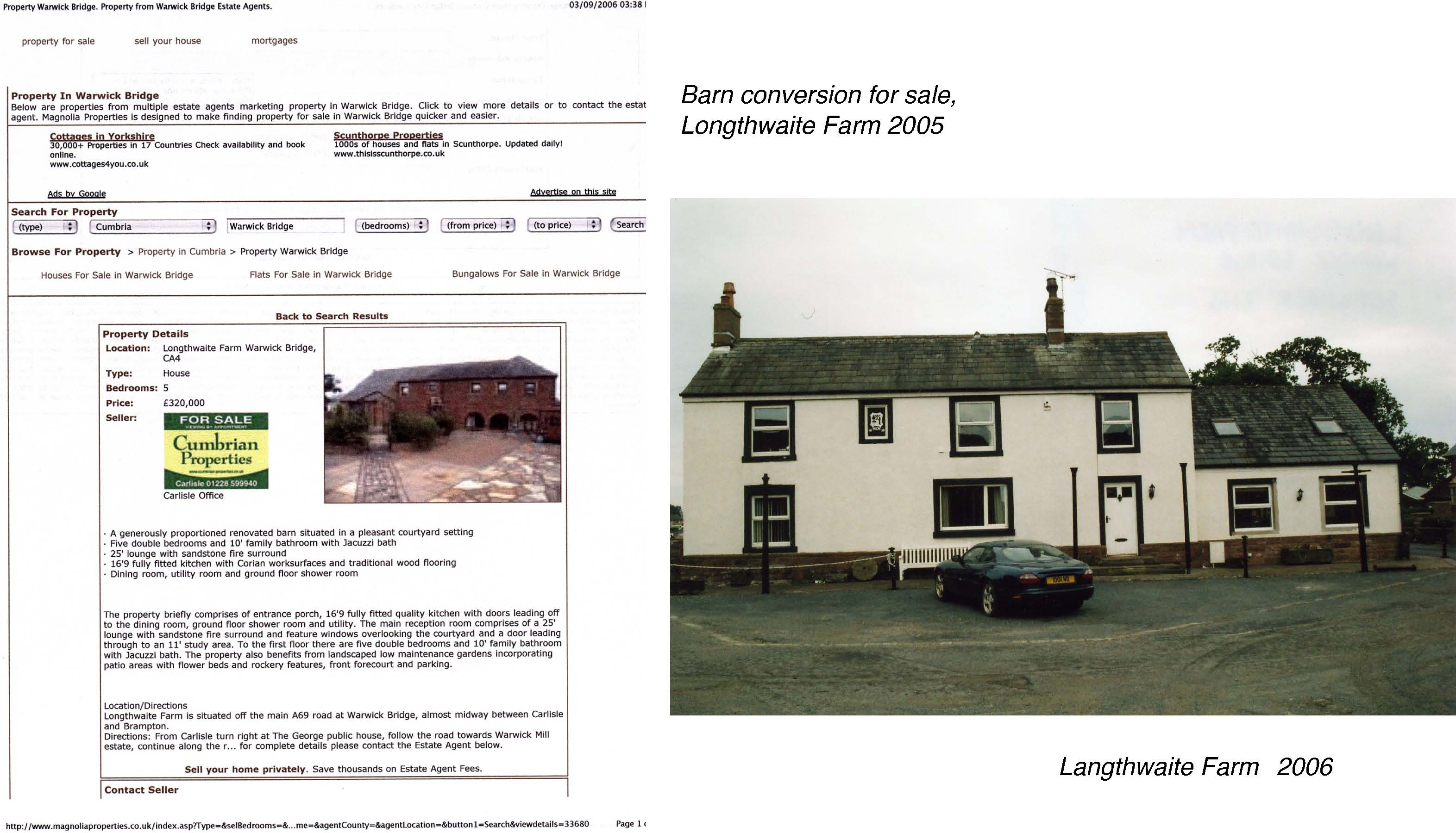 Langthwaite Farm 2006