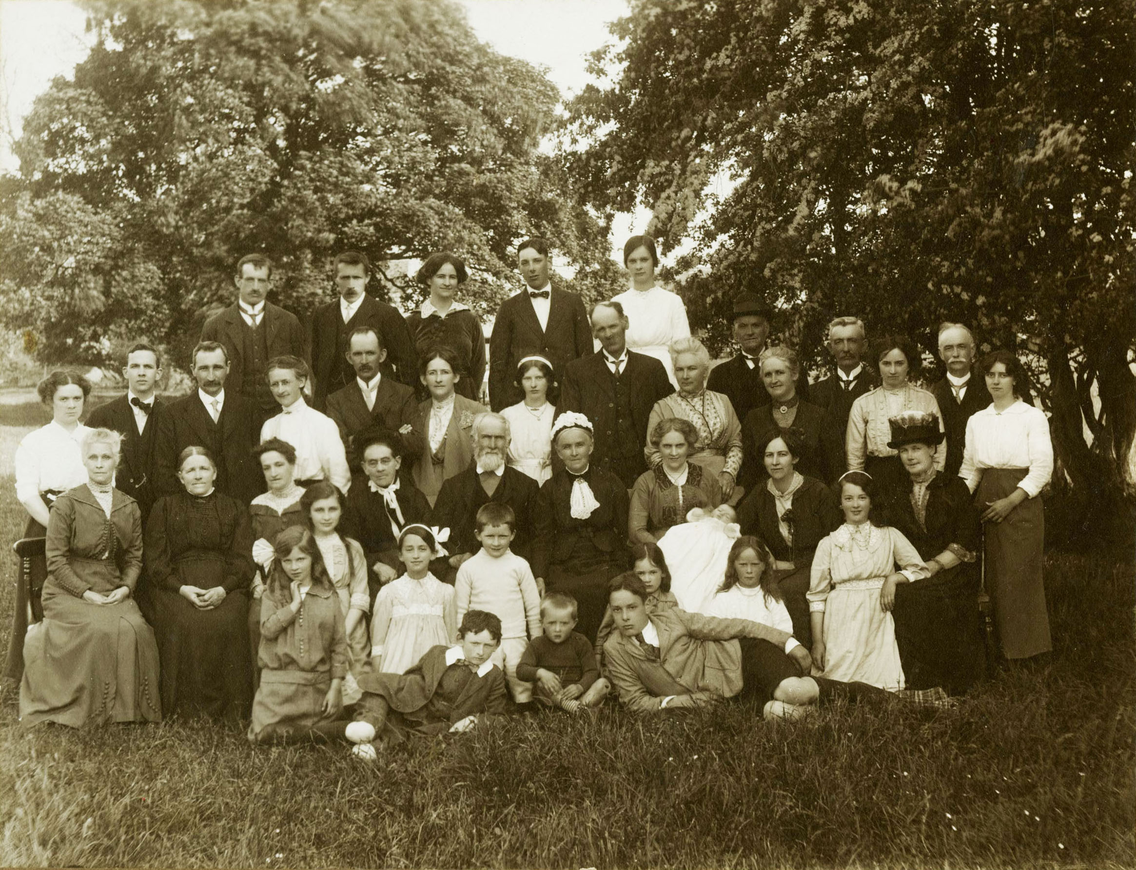 Wannop and Robson Families of Blencow and Johnby ca. 1915